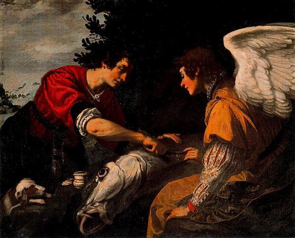 jacopo vignali-tobías y el ángel