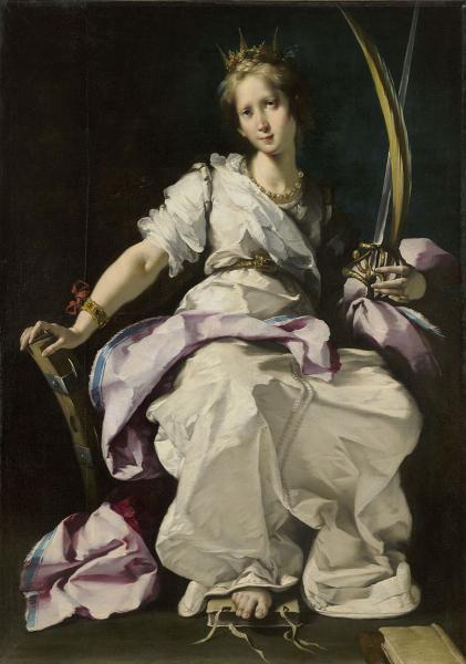 bernardo strozzi-santa catalina de alejandría