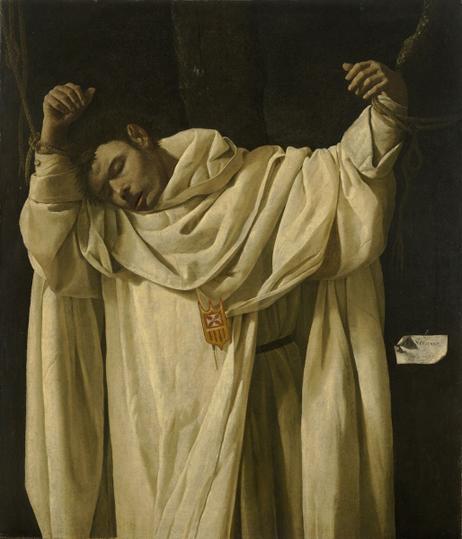 francisco de zurbarán-san serafino