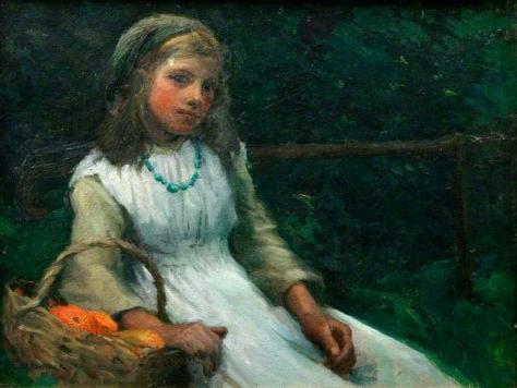 harold c.. harvez-la chica de las naranjas