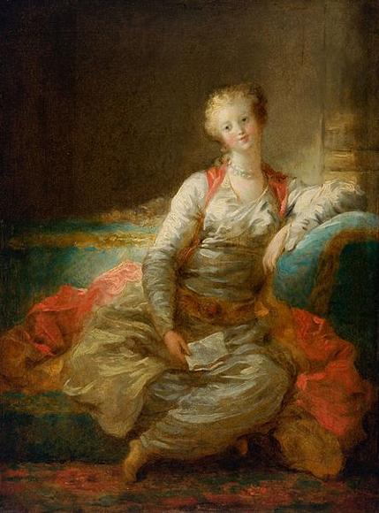 jean honoré fragonard-la pequeña sultana
