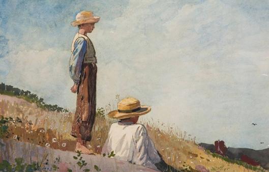 winslow-homer-el-chico-en-azul-museos-y-pinturas-juan-carlos-boveri