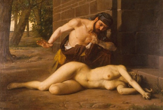 epifanio garay-la mujer del levita de los montes efraín