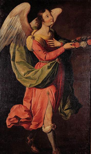 escuela de francisco zurbarán-arcángel gabriel
