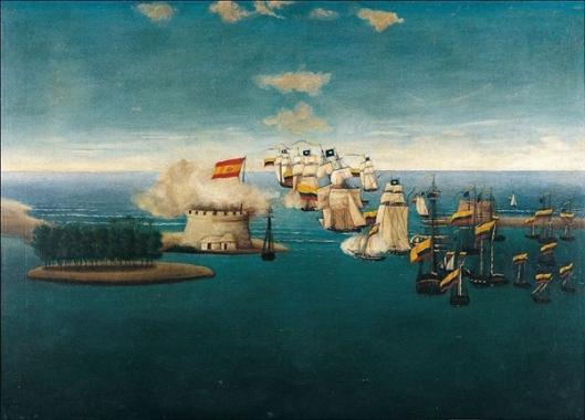 josé maría espinosa prieto-acción del castillo de maracaibo