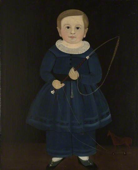 william mattew prior-un niño en azul