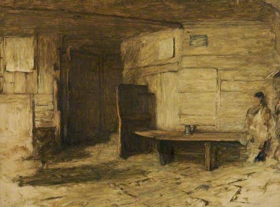 william-quiller orchadson-interior de una vieja posada