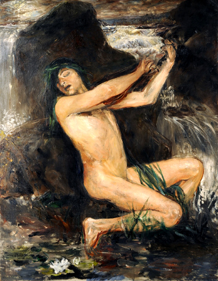 ernest josephson-el espíritu del agua