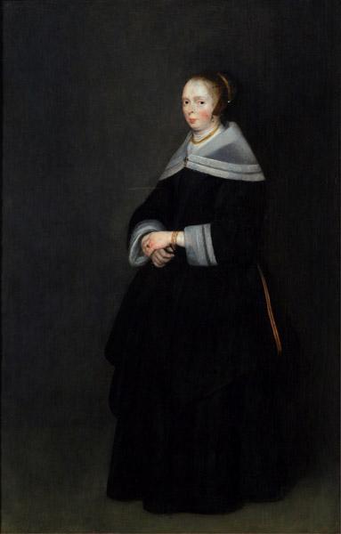 gerhard ter borch-retrato de mujer