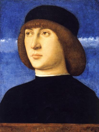 giovanni bellini-retrato de un hombre