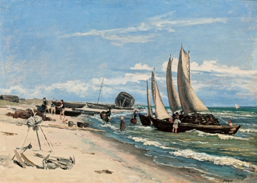 martinus rorbye-playa de skagen
