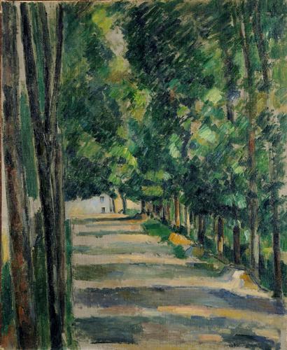 paul cézanne-camino