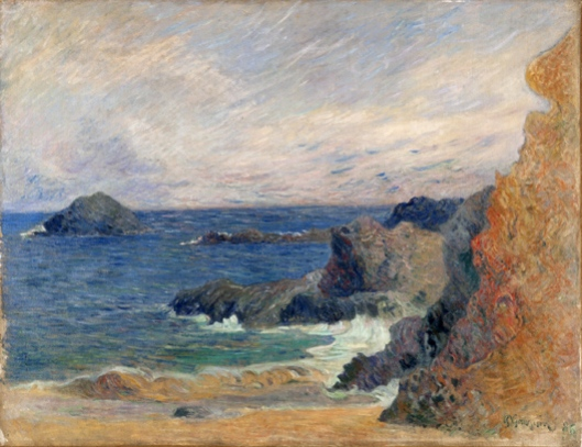 paul gauguin-paisaje de mar