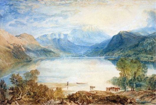william turnes -ullswater desde gobarrow park
