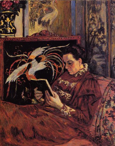 armand guillaumin-retrato de la señora guillaumin