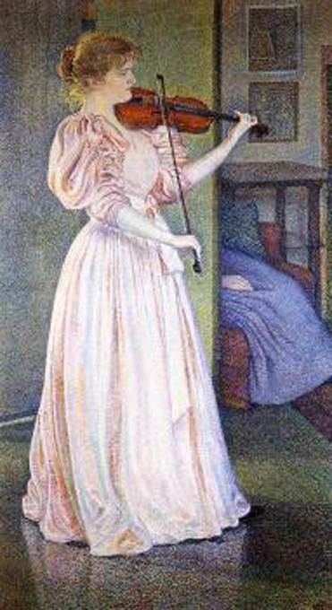 theo van rysselberghe-retrato de irma