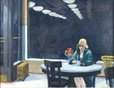 edward hopper-automat