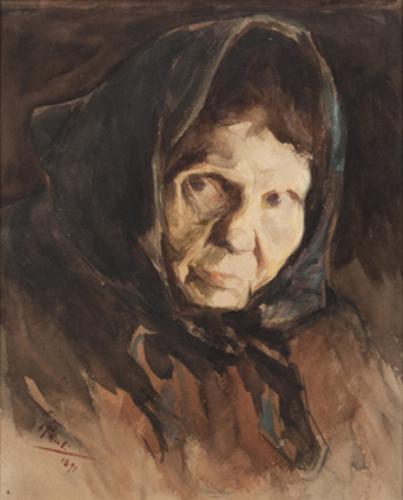 georg pauli-cabeza de mujer
