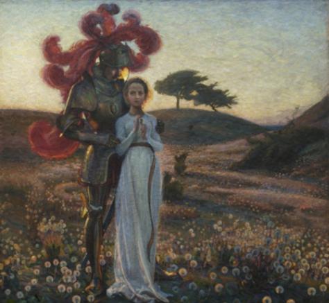 richard berg-knight y la doncella