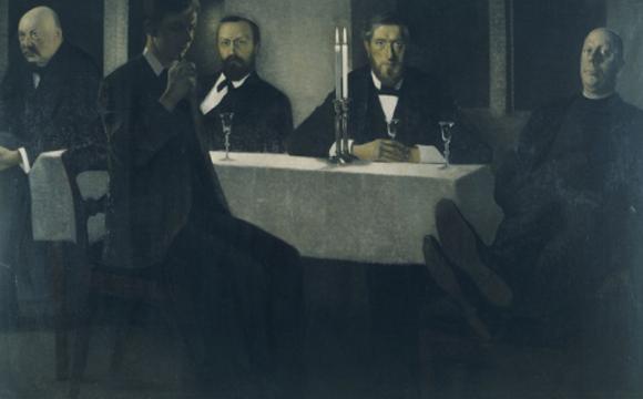 wilhelm hammershoi-cinco retratos